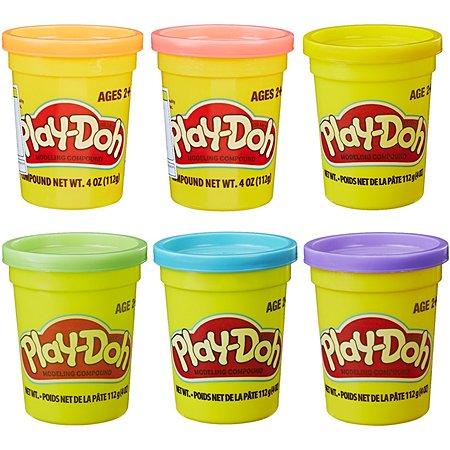 Пластилин Play-Doh 1цвет в ассортименте B6756EU2