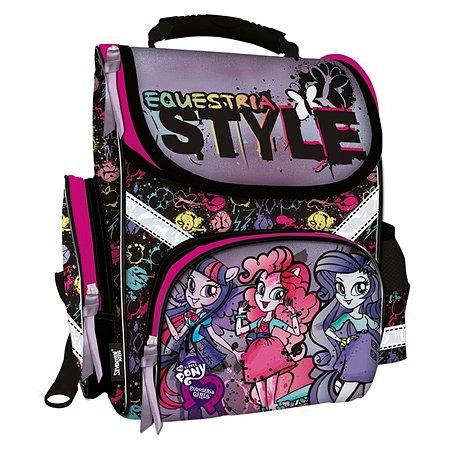 Рюкзак Kinderline школьный фиолетовый