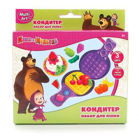 Набор для лепки Multiart Маша и Медведь. Кондитер