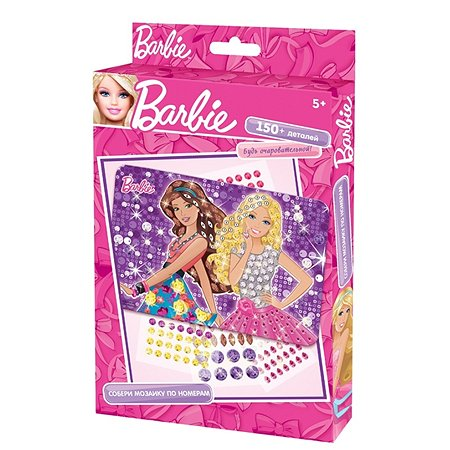 Мозаика -сингл Чудо-творчество Barbie  в ассортименте 02446
