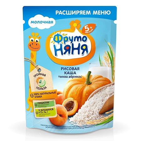 Каша ФрутоНяня молочная рисовая с тыквой и абрикосами 200 г с 5 месяцев