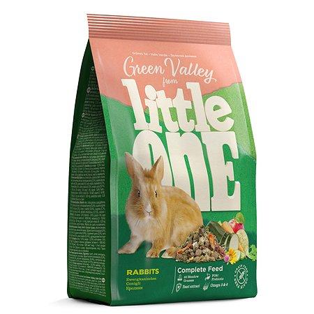 Корм для кроликов Little One Зеленая долина из разнотравья 750г 57064