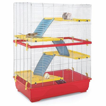 Клетка для грызунов IMAC Rat double большая Красная