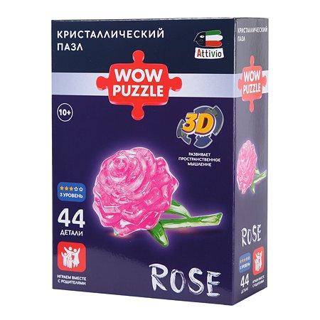 Пазл Attivio Роза кристаллический 9001