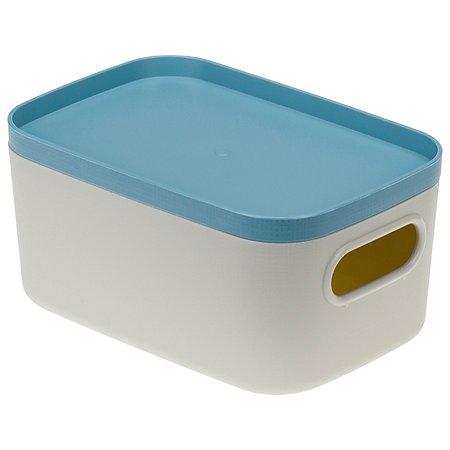 Коробка IDEA Инфинити 0.65л Серо-голубая