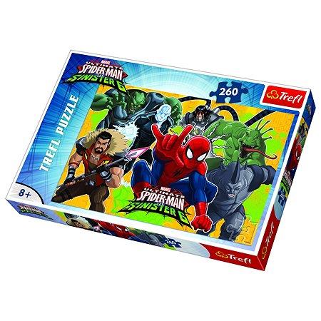 Пазл Trefl Человек-паук 260 элементов 13218