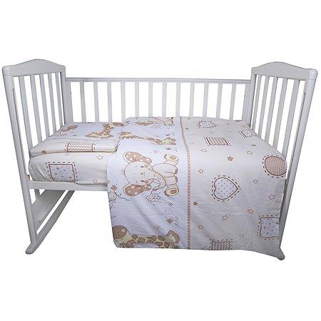 Комплект постельного белья Babyton Сафари 3предмета 10041