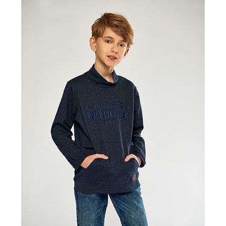 Водолазка Futurino Fashion тёмно-синяя