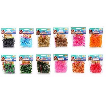 Набор для творчества Altacto плетение браслетов из резиночек Разноцветное лето 300 шт в ассортименте