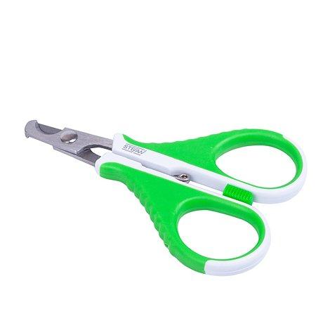 Когтерез-ножницы Stefan для животных прямой со стопором малый Stefan