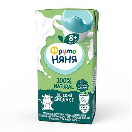 Биолакт ФрутоНяня без сахара 3.4% 0.2л с 8месяцев