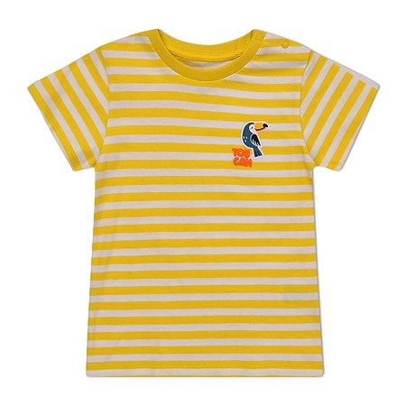 Футболка BabyGo жёлтая