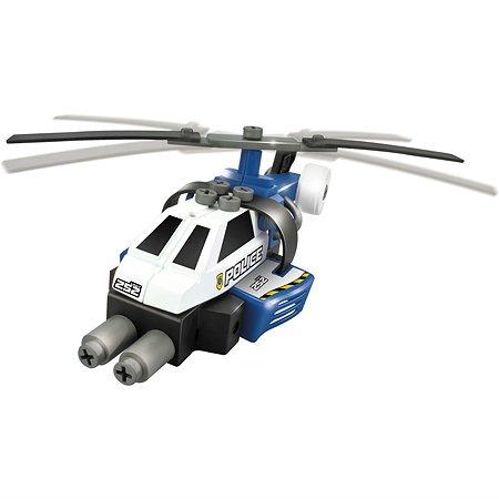 Машинка-конструктор Devik Toys Синий вертолет