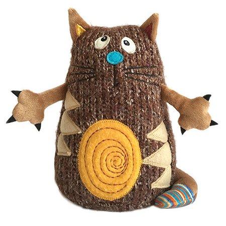 Кот Котейка Gulliver 15см. коричневый