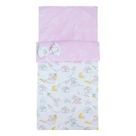 Одеяло-спальный мешок Amarobaby Magic Sleep Мышата в облаках AMARO-32MS-MvO