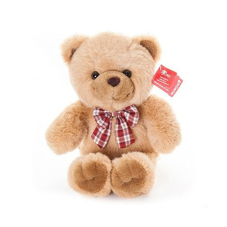 Медведь Aurora с бантом 35 см