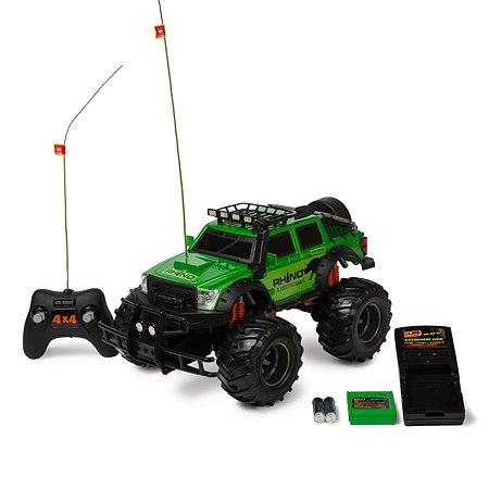 Машина радиоуправляемая New Bright Джип Rhino полный привод 1:12 35 см Зелёная