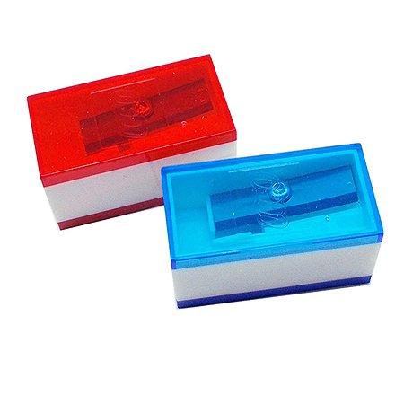 Набор точилок LEGO 2шт цвет синий красный