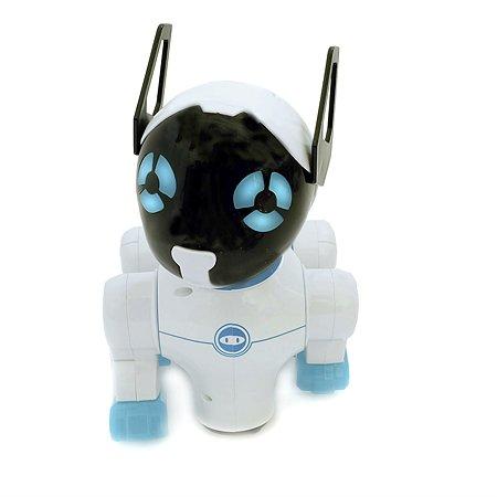 Игрушка HK Industries Собака интерактивная белый/голубой