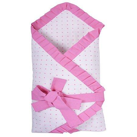 Одеяло Эдельвейс на липучке Розовое