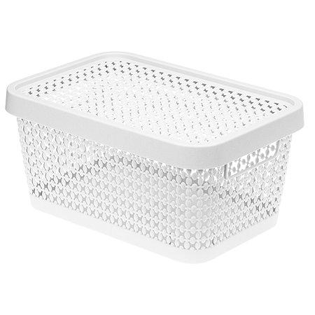 Коробка IDEA Пирула 4.5л Белая М 2348