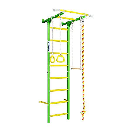 Шведская стенка ROMANA Karusel S1 Зеленое яблоко ДСКМ-2С-8.06.Г3.490.18-13