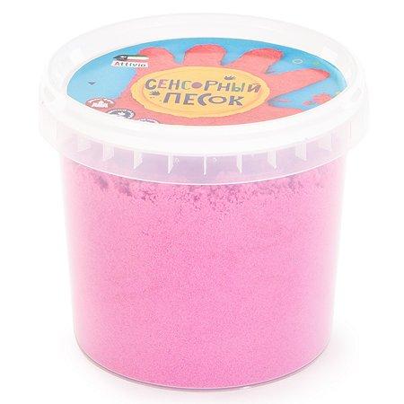 Песок сенсорный Attivio 1кг Розовый