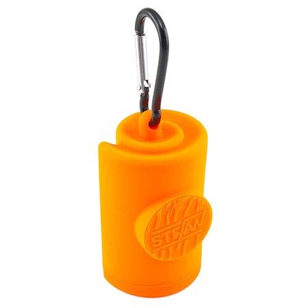 Контейнер Stefan для гигиенических пакетов оранжевый Stefan