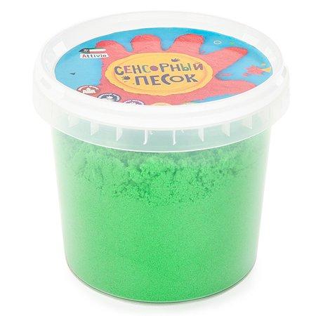 Песок сенсорный Attivio 1кг Зеленый