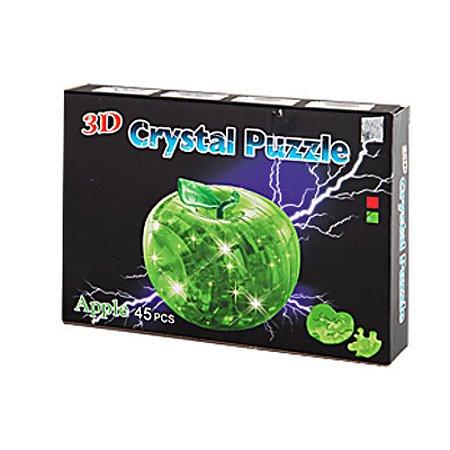 Пазлы 3D Кристалл Shenzhen Jingyitian Trade Яблоко со светом 45 деталей в ассортименте