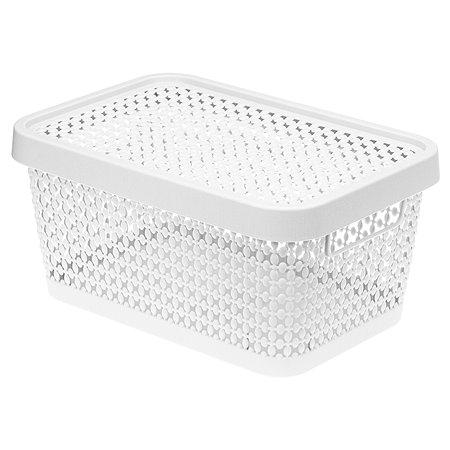 Коробка IDEA Пирула 12л Белая М 2349