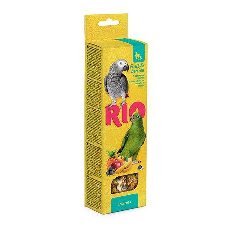 Лакомство для птиц RIO Палочки с фруктами и ягодами 2шт*75г 99776