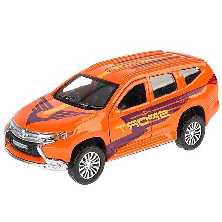 Машина Технопарк Mitsubishi Pajero Sport инерционная 243678