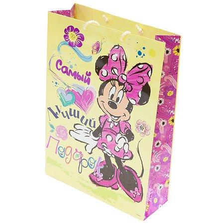 Пакет подарочный Disney Самый лучший подарок