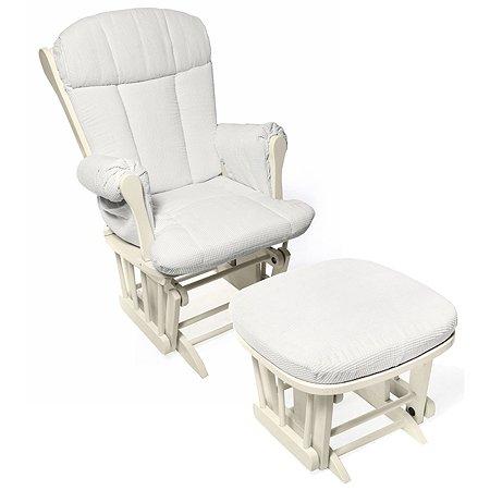 Кресло-качалка для кормления Nuovita Bertini Слоновая кость