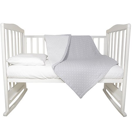 Комплект постельного белья Baby Edel 3 предмета Белый 10057