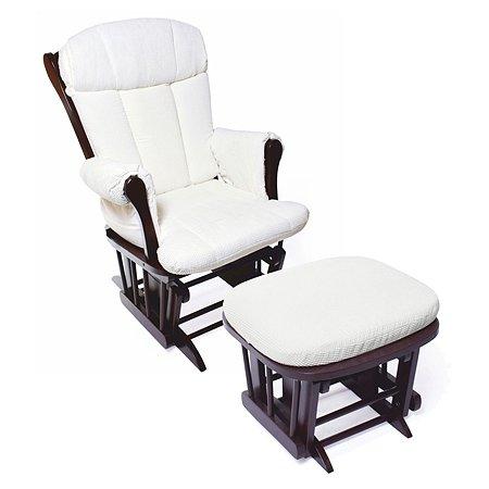 Кресло-качалка для кормления Nuovita Bertini Темный орех