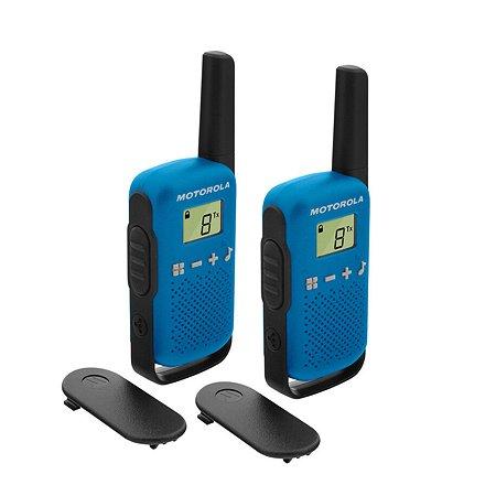 Комплект радиостанций Motorola TALKABOUT T42 2шт BLUE