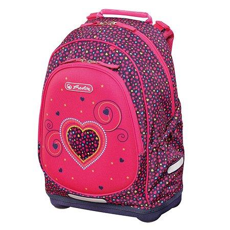 Рюкзак Herlitz Bliss Pink Hearts