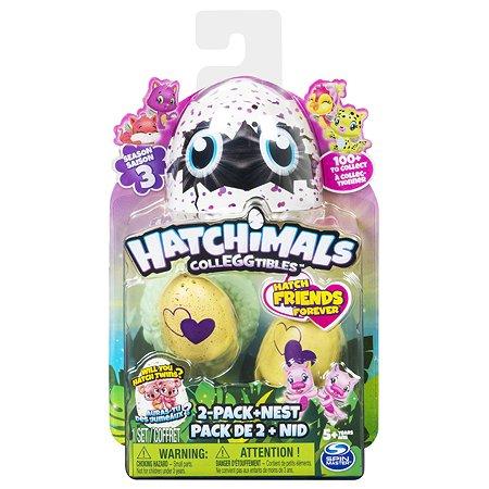 Набор Hatchimals игрушки коллекционные 2 шт. в непрозрачной упаковке (Сюрприз) 6041332