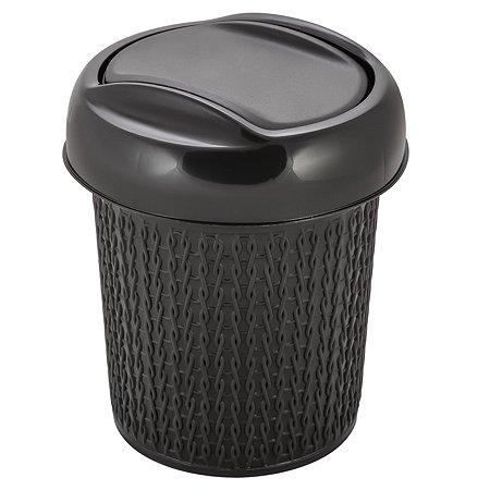 Контейнер для мусора SVIP Ajur 1л Венге