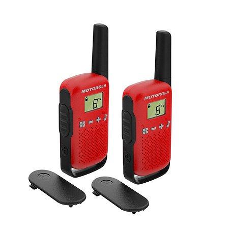 Комплект радиостанций Motorola TALKABOUT T42 2шт RED
