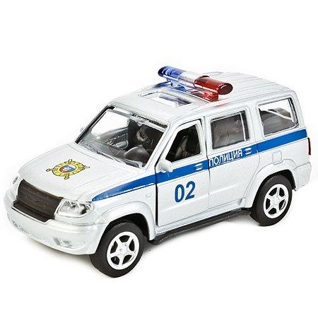 Машина Технопарк Уаз Патриот Полиция