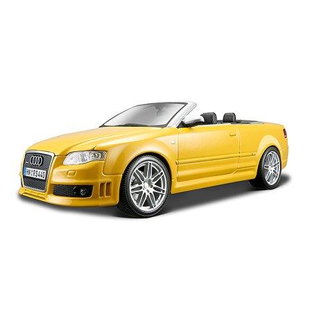 Машина MAISTO Audi RS4 Cabriolet 1:18 6/6