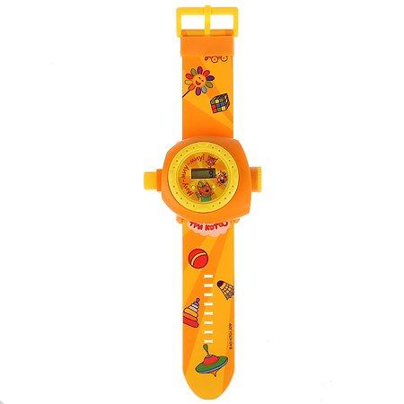Игрушка УМка Три Кота Часы с проектором 278366
