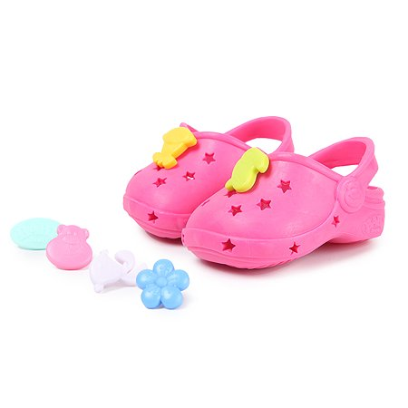 Обувь для куклы Zapf Creation Baby born Сандали фантазийные Красные 824-597