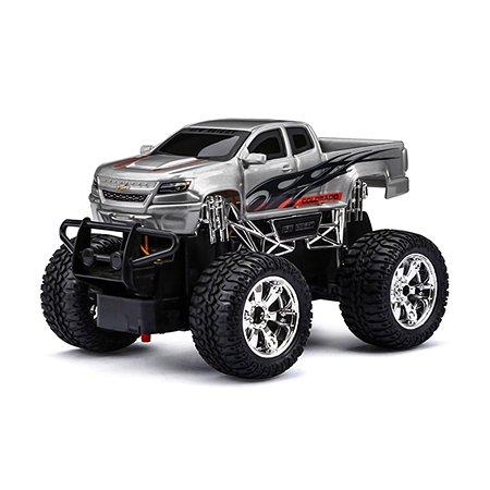 Машина р/у New Bright Chevrolet Colorado серебристый 1:24