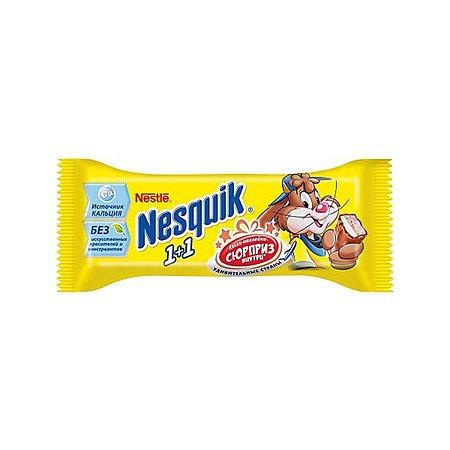 Батончик Nesquik 1+1 шоколад 28г