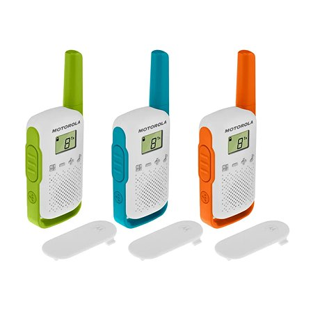 Комплект радиостанций Motorola TALKABOUT T42 3шт TRIPLE