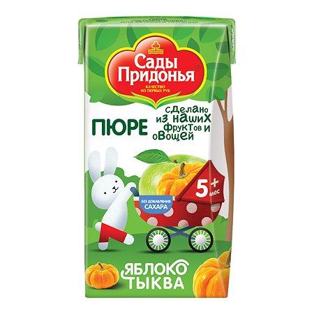 Пюре Сады Придонья яблоко-тыква 125г с 5месяцев